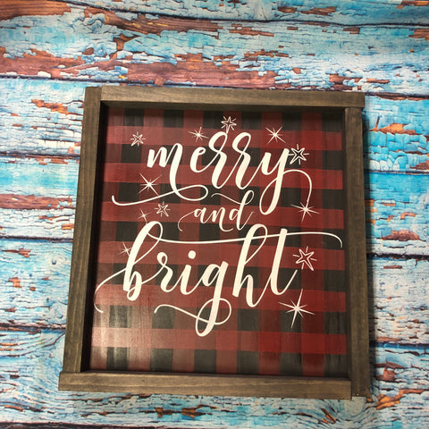 SIGN Design - Christmas - Merry and Bright