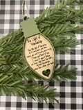 RTS - Friendship Christmas ornament