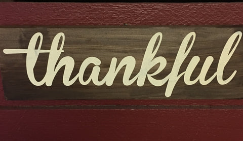 SIGN Design - Thankful