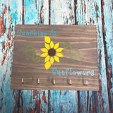 Sign Design - Sunshine and Sunflowers Key Hanger