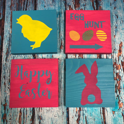 RTS - Ready To Ship - Easter Take & Make - set of 4
