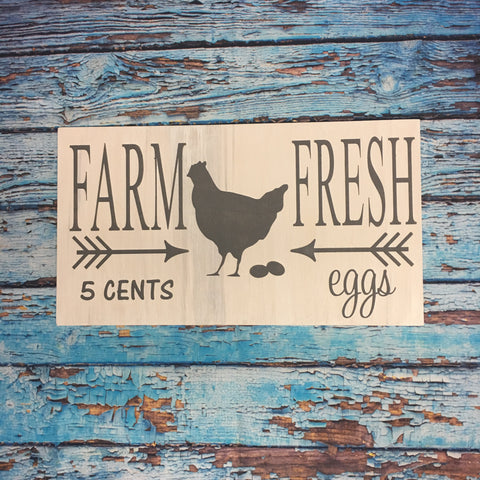 SIGN DESIGN - Farm Fresh Eggs