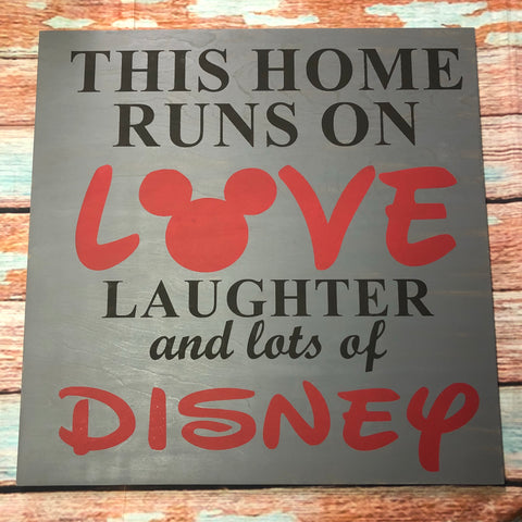SIGN Design - Disney Love