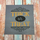 SIGN Design - Halloween - Trick or Treat square