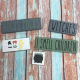 SIGN Design - mini sets of 5