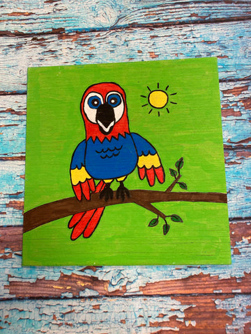 RTS - Paint at Home Kit - Polly Parrot