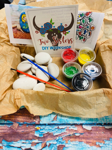 RTS - DIY Kit - Rock Painting Kit