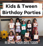 00 Kids Birthday Party Reservations