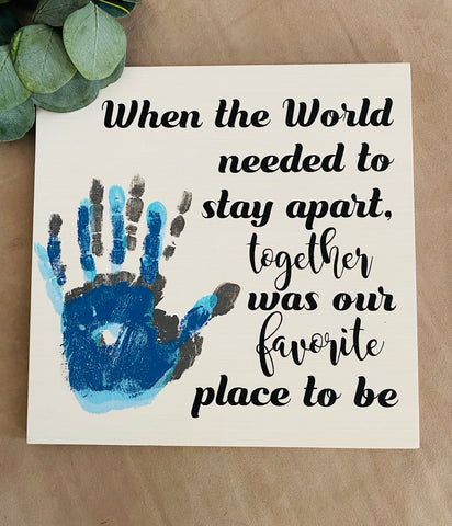 RTS - DIY Kit - 2020 Commemorative Handprint