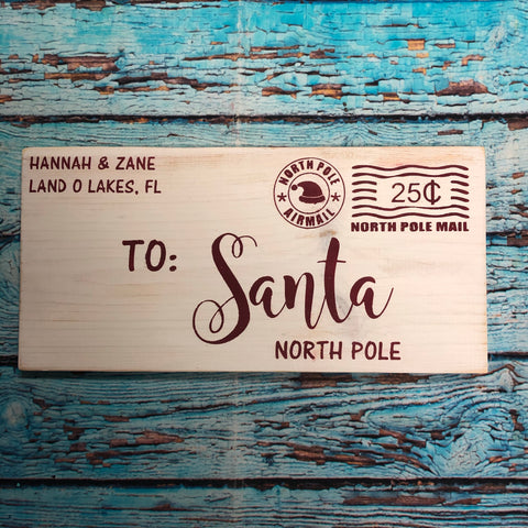 SIGN Design - Christmas - Santa letter