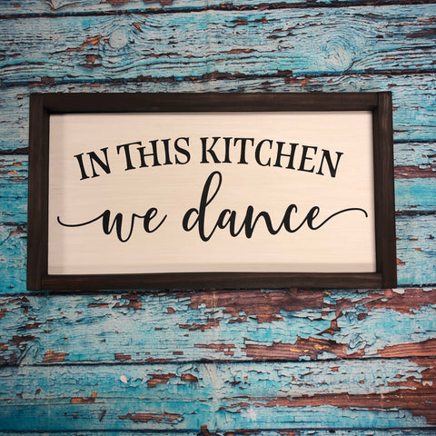 SIGN Design - In this kitchen we dance