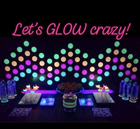 01/15 Friday 6-9pm - Kids Glow Night - Pizza & Painting Public Workshop