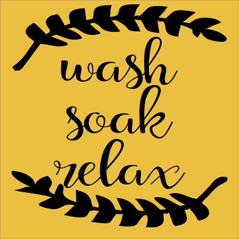 SIGN Design - Wash Soak Relax