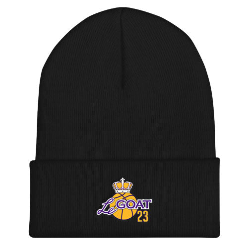 LeGOAT Beanie - Purple/Yellow