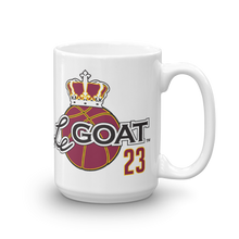 LeGOAT Coffee Mug - Gold/Burgundy
