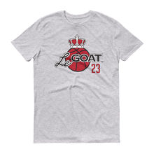 Men's LeGOAT Grey Logo Shirt - Black/Red