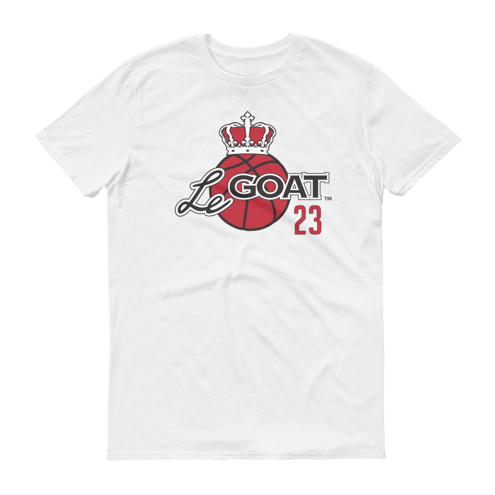 Men's LeGOAT White Logo Shirt - Black/Red