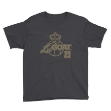 Kid's LeGOAT Black Logo Shirt - Black/Gold
