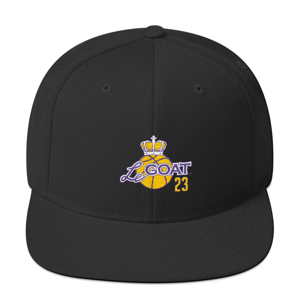 LeGOAT Hat - Purple/Yellow