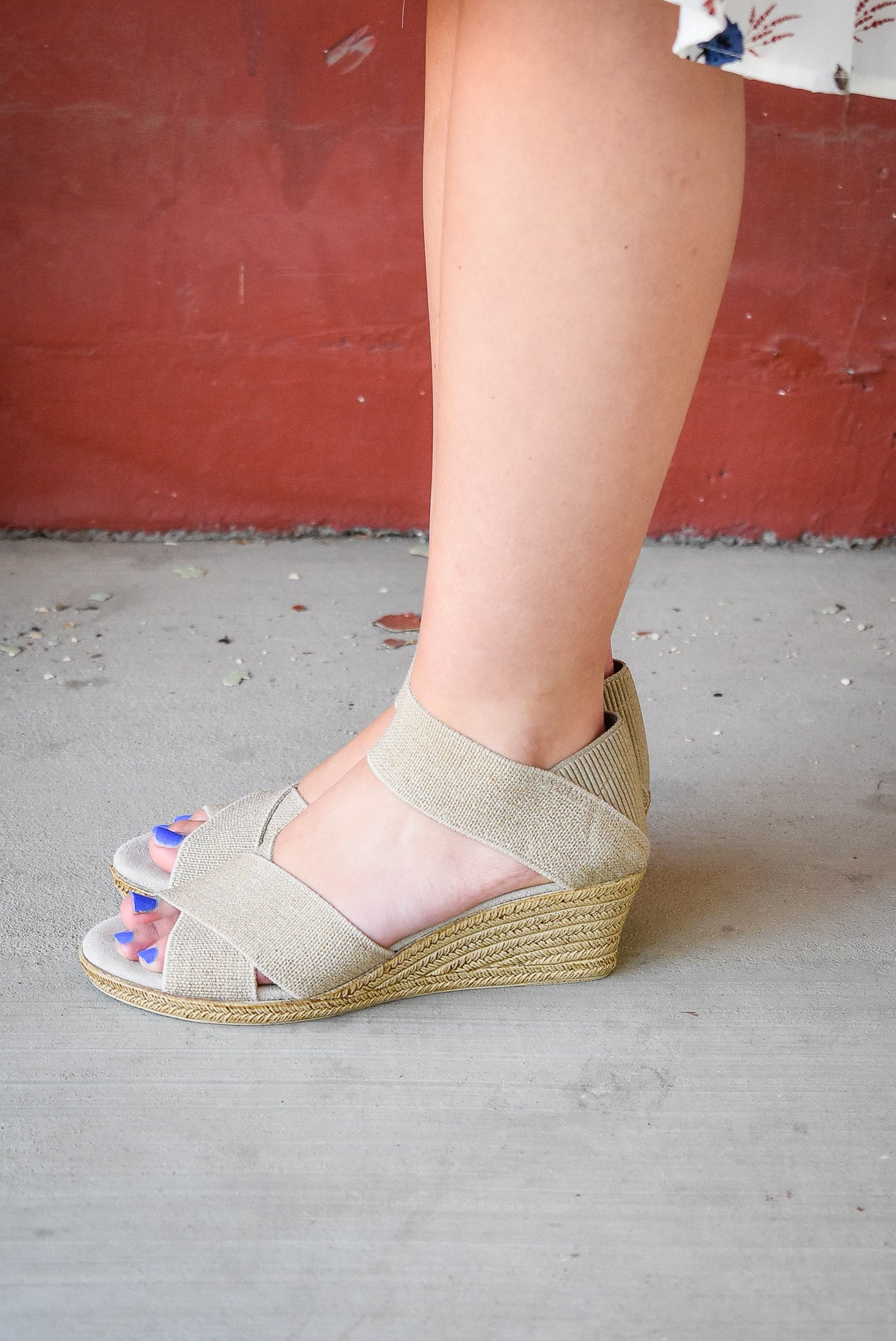 CANNON WEDGES-LINEN