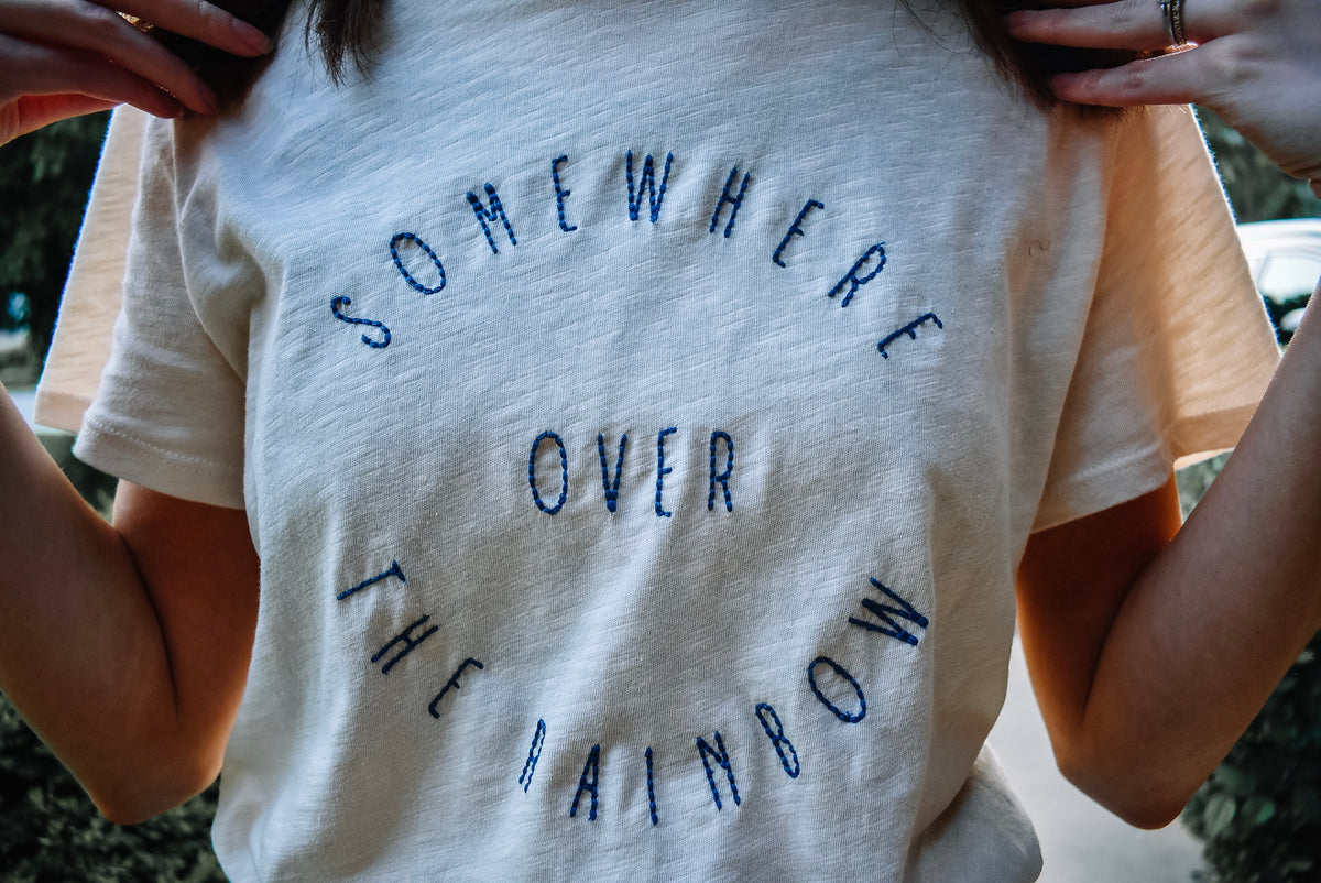 SOMEWHERE OVER THE RAINBOW TEE