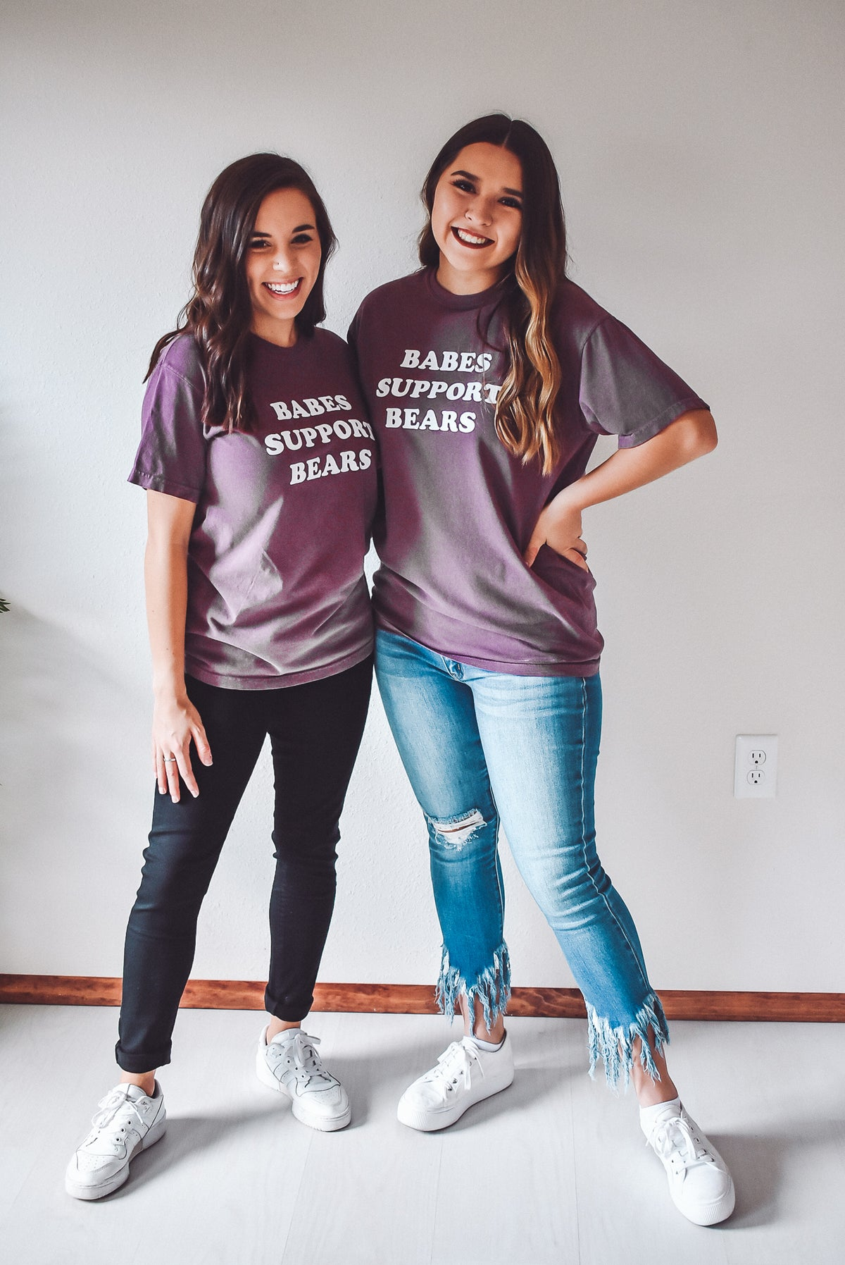 MERRY MOORE EXCLUSIVE: BABES SUPPORT BEARS TEE