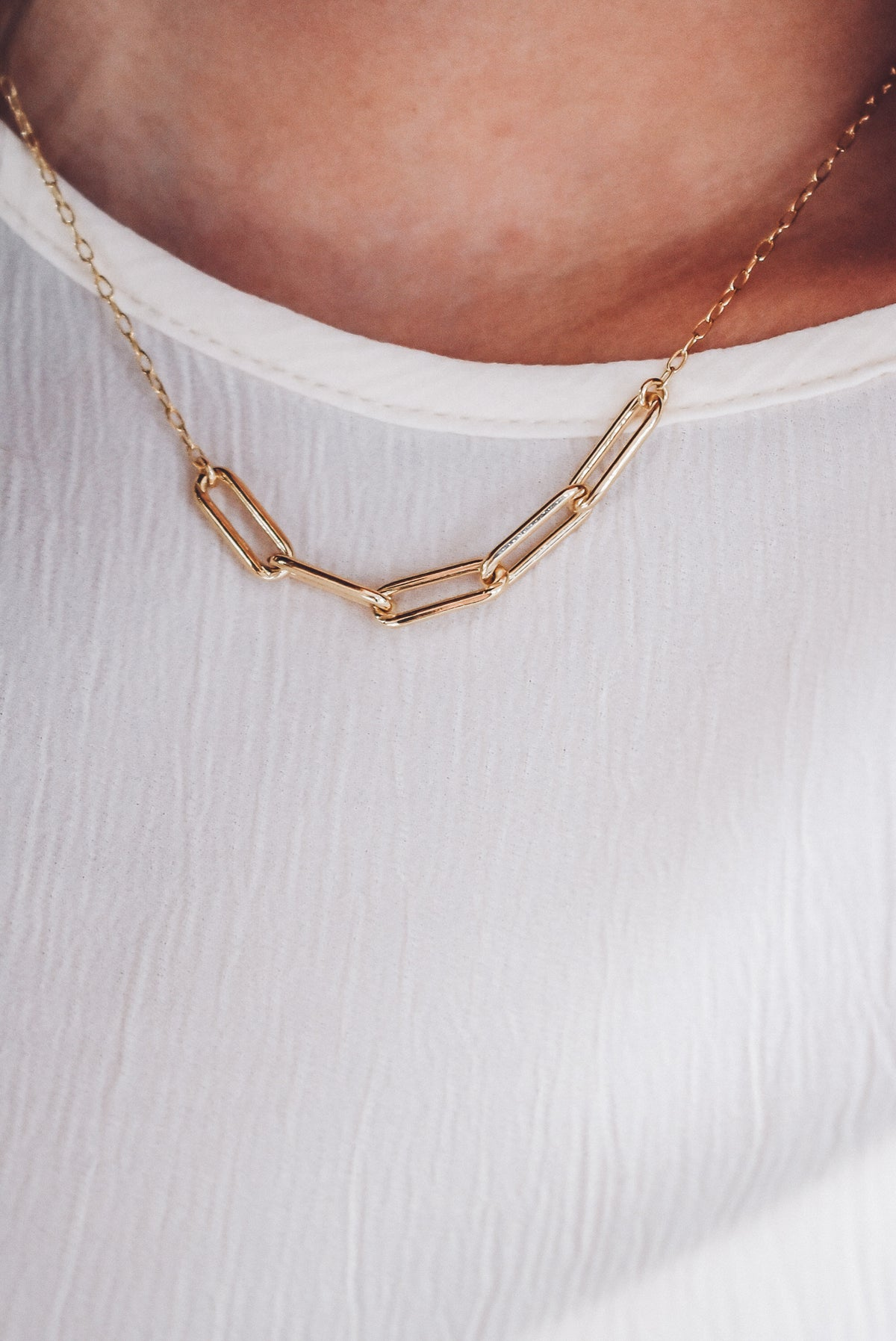 5 LINK NECKLACE