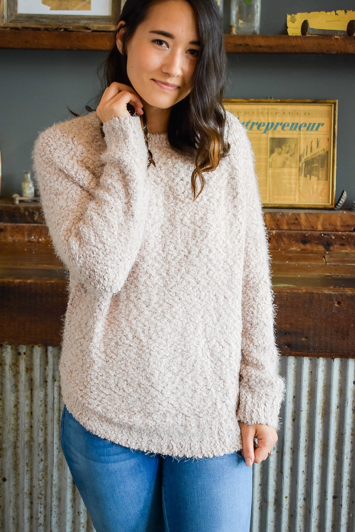 SUCH A SOFTY SWEATER-PINK