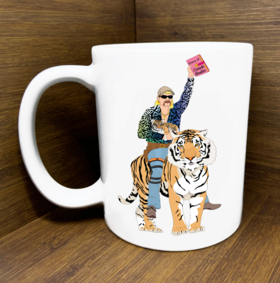 TIGER KING JOE EXOTIC MUG
