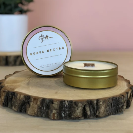 3.5 oz. Travel Tin Soy Candle