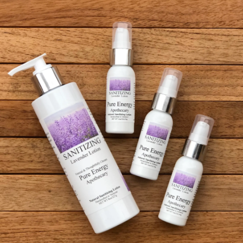 SANITIZING LOTION-LAVENDER