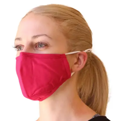 PINK WIRED FACE MASK