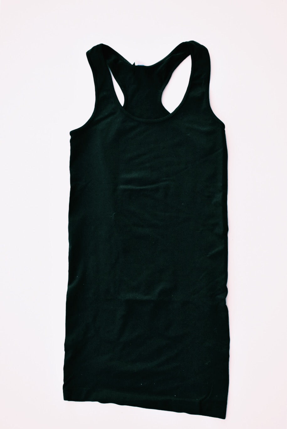 SPANDEX RACERBACK DRESS