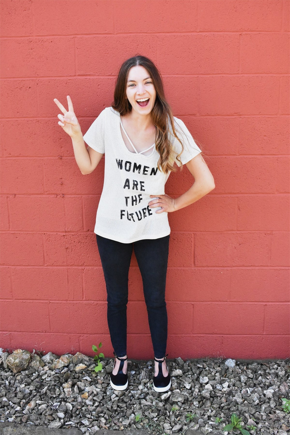 WOMEN ARE THE FUTURE TEE