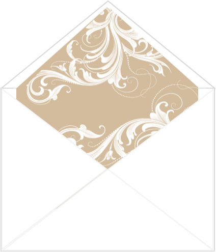 Flourish Envelope Liner