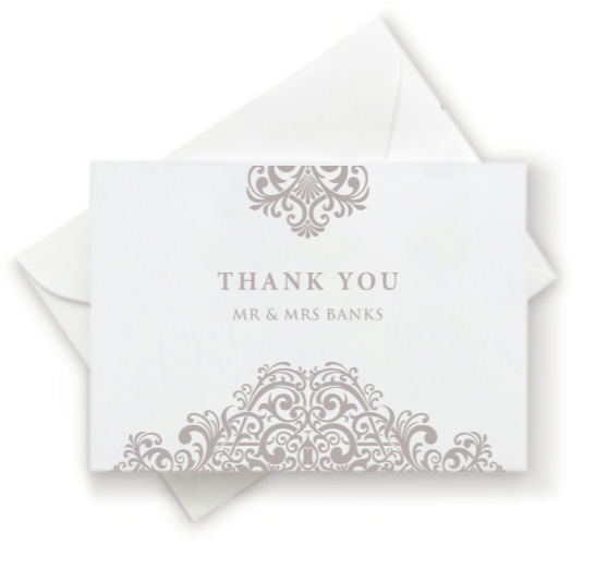 Regala Thank You Card