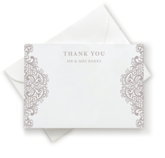 Regala Thank You Note
