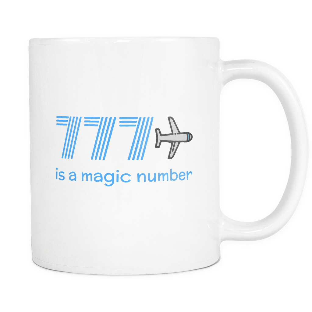 777 is a Magic Number Mug
