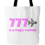 777 is a Magic Number Tote Bag