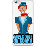 Welcome on board iPhone Case