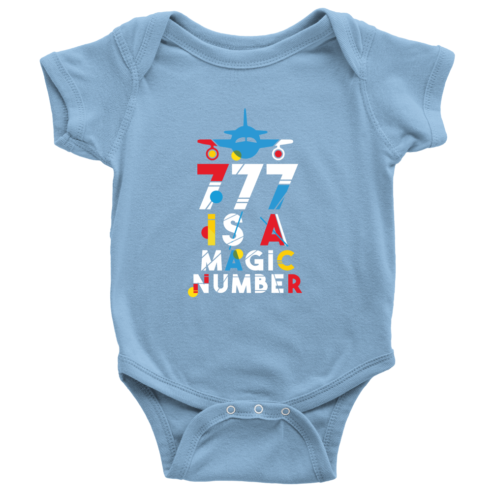 777 is a Magic Number - Baby Rompers