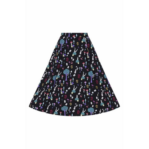 Matilde in Wonderland Swing skirt