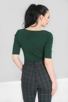 Hellbunny-Phillipa Top Green