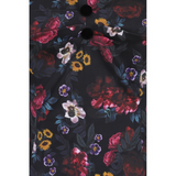 Dolores Half-Sleeve Midnight Floral