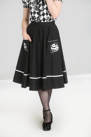 Hellbunny-Full Moon Skirt
