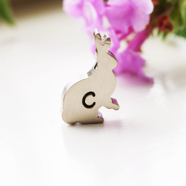 Little Bunny Rabbit Necklace Gold Rabbit Jewelry - Sienna Grace Jewelry