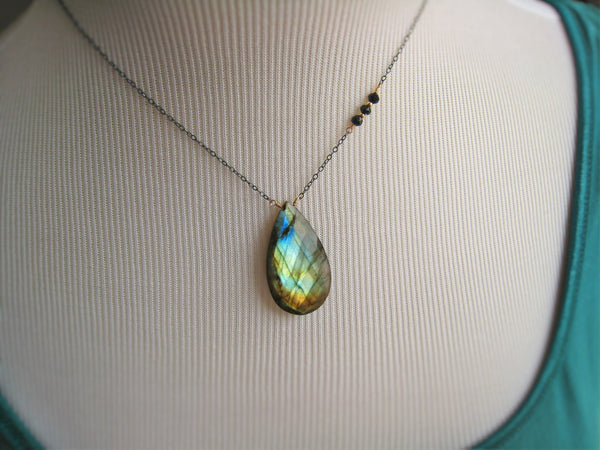 Labradorite Necklace Customize Your Pendant Necklace