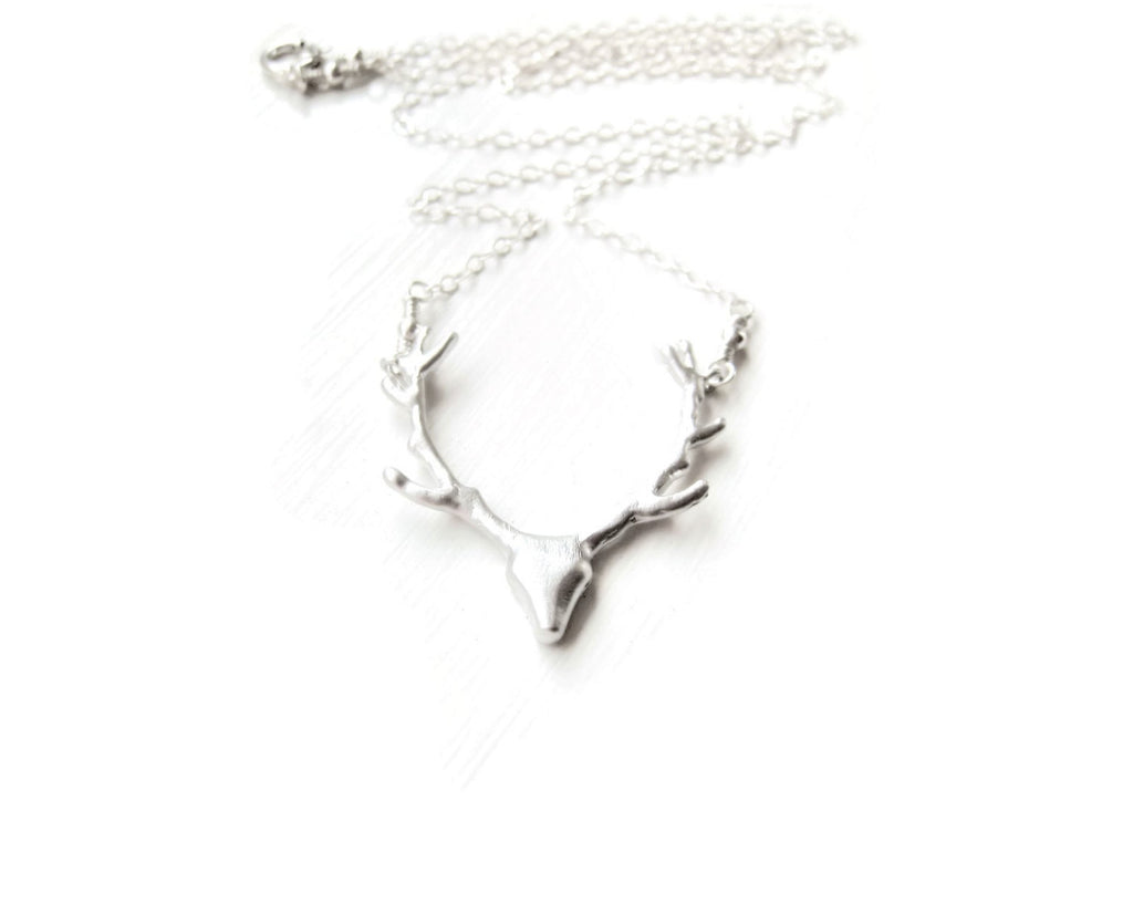 Silver Deer Necklace As Seen on Pretty Little Liars Spencer Hastings - Sienna Grace Jewelry | Pretty Little Handcrafted Sparkles