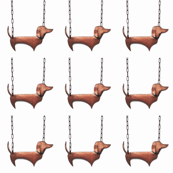 Dachshund Necklace Vintage Copper Sausage Dog Jewelry - Sienna Grace Jewelry | Pretty Little Handcrafted Sparkles