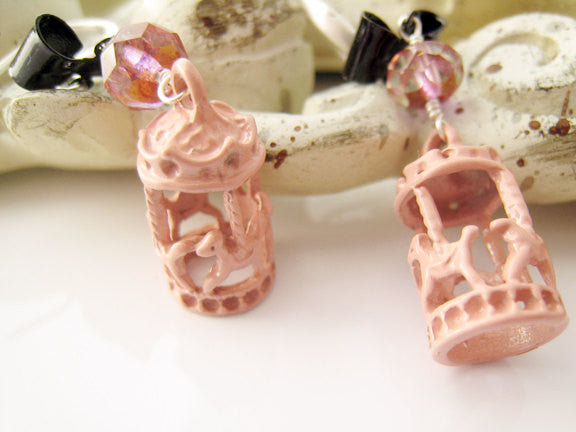 Merry Go Round Carousel Earrings - Sienna Grace Jewelry